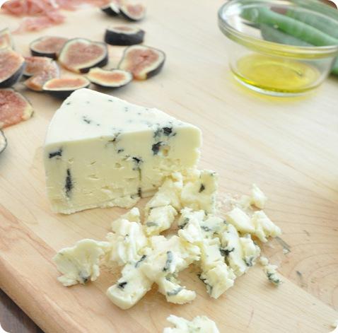diced blue cheese