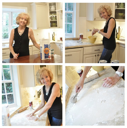 rhoda cooking dumplings