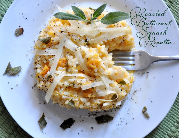 Roasted Butternut Squash Risotto | Centsational Style