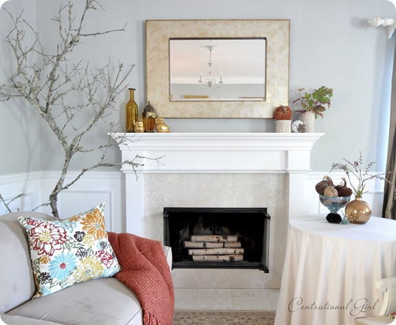 square mirror over mantel cg