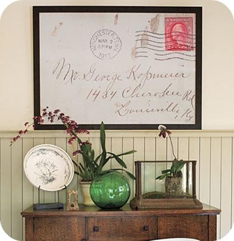 Southern Living large framed envelope