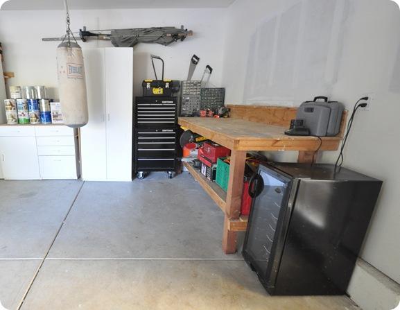 corner of garage