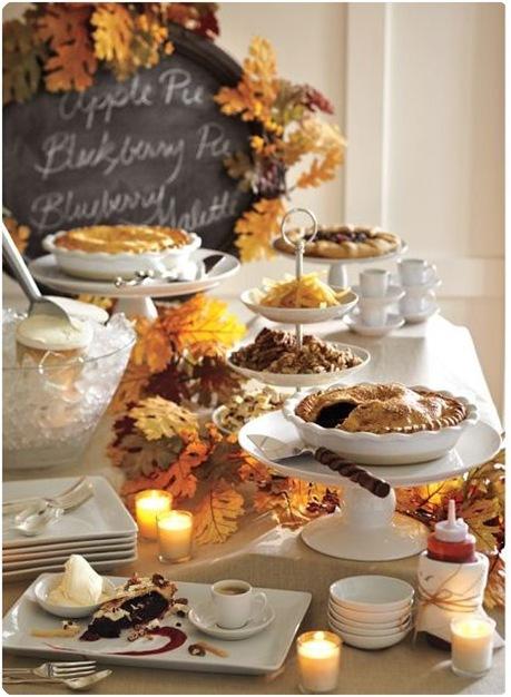 dessert buffet table pottery barn