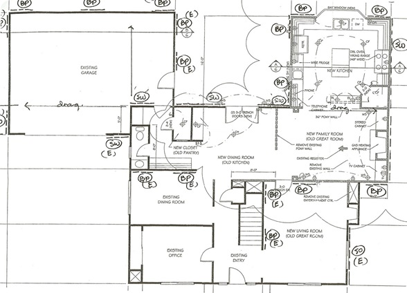 house plan lower level