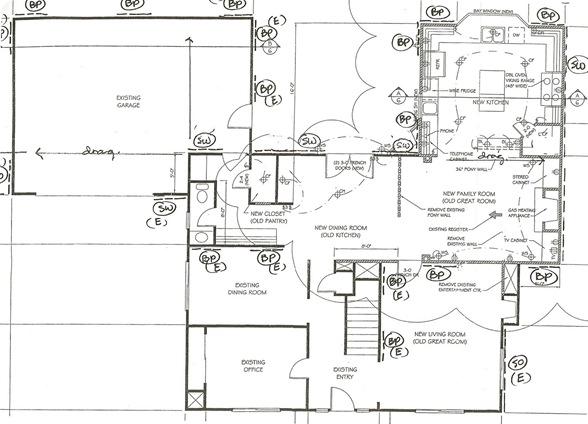 house plan lower level