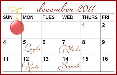 link party calendar