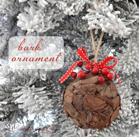 bark ornament centsational girl