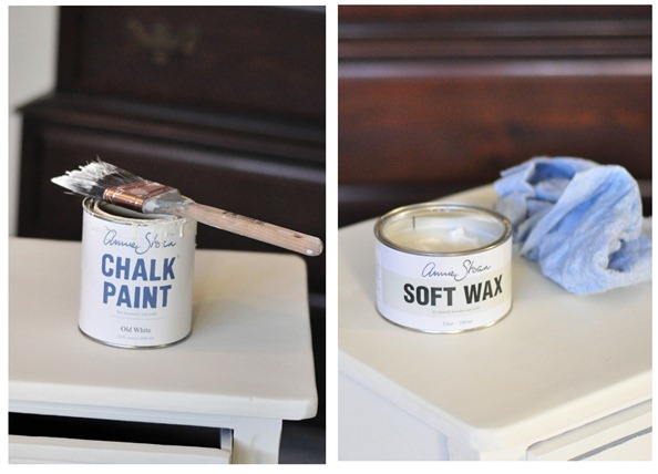 chalk paint and soft wax