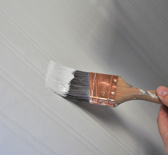 paint beadboard wallpaper