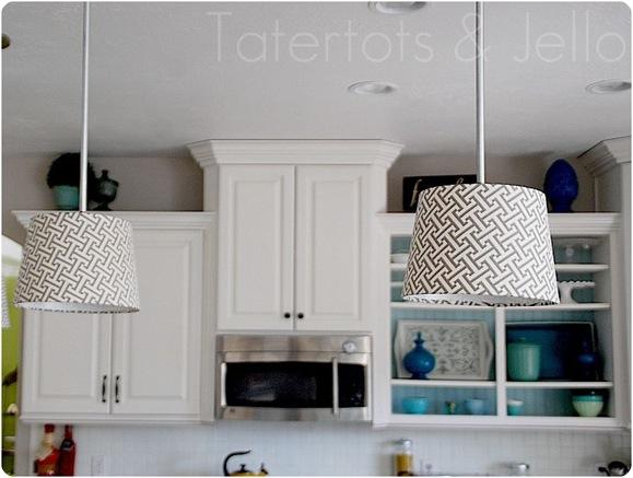 pendant lights tatertots and jello