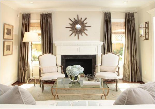 ashley goforth sitting room and mantel