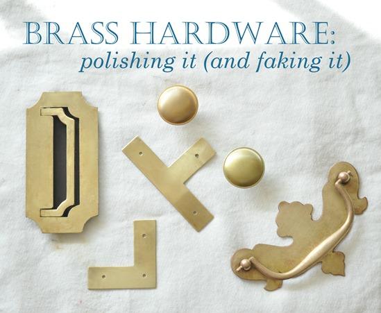 Brass Hardware Polished And Fake