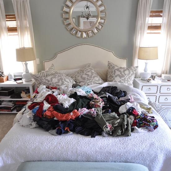 kates laundry pile