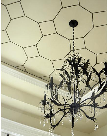 nailhead trim ceiling