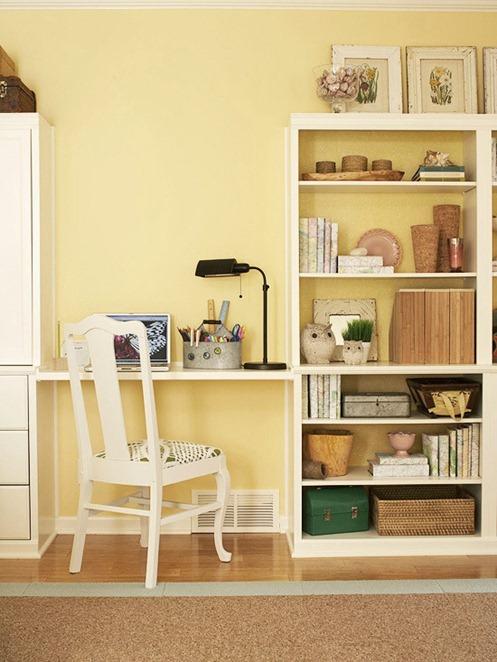 shelf inbetween bookcase