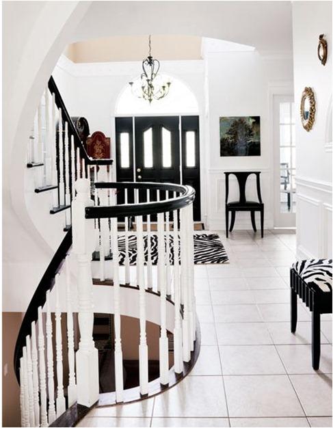 Decorating With Black White Centsational Style