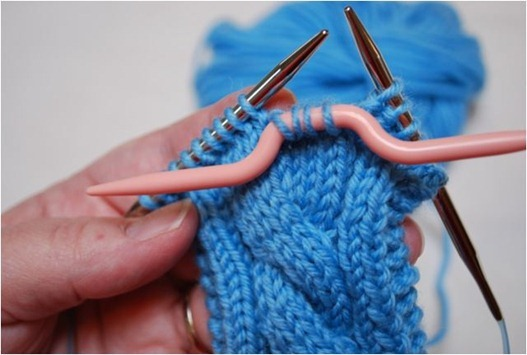 cable knit step 2