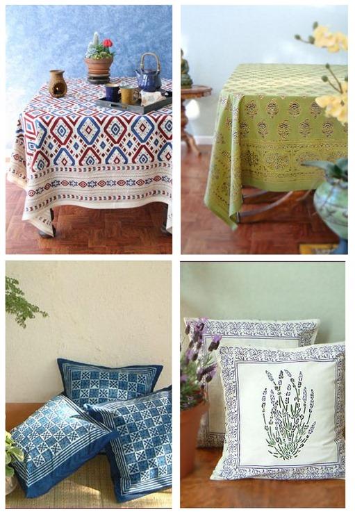 saffron marigold pillows tablecloths