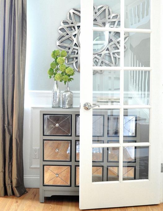 open living room door