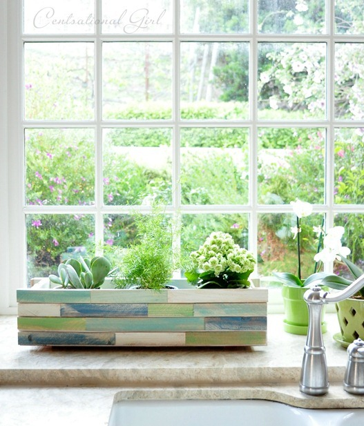 shim window box in kitchen cg