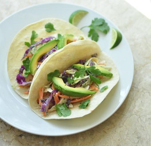 fish tacos chipotle lime cilantro slaw