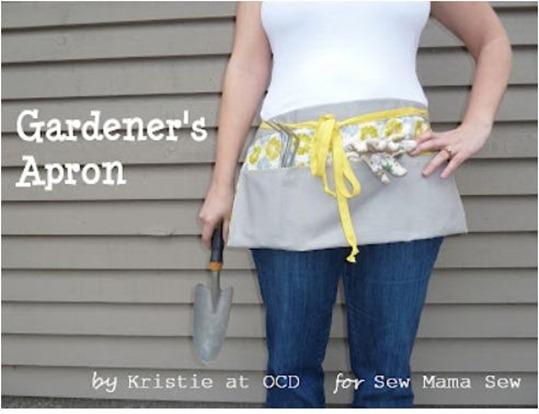 gardeners apron sew mama sew