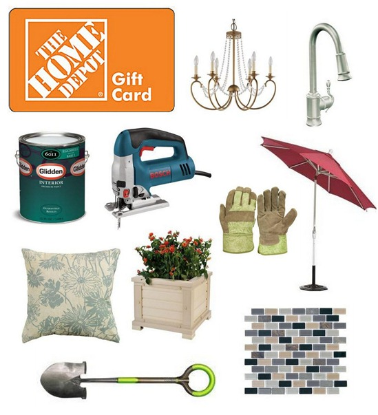 home depot collage