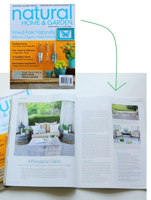 natural home garden mag feature
