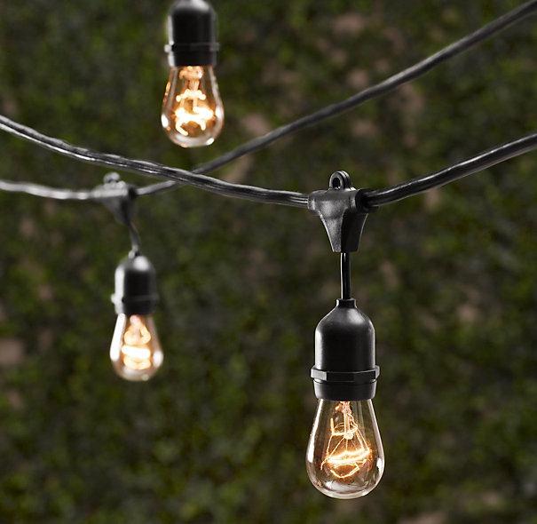 Flickering Outdoor Light Bulbs