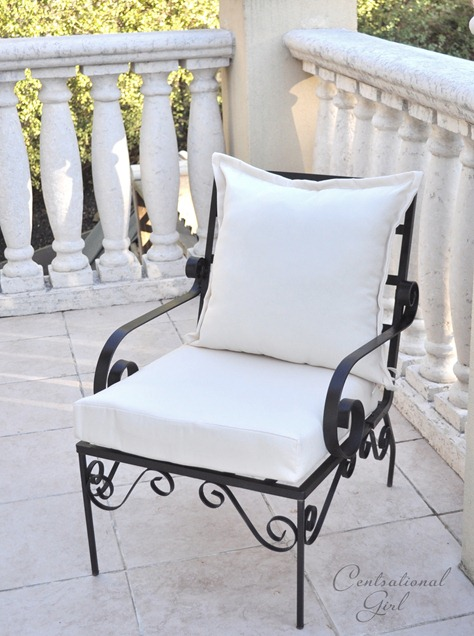 New oil rubbed bronze outdoor chair cg