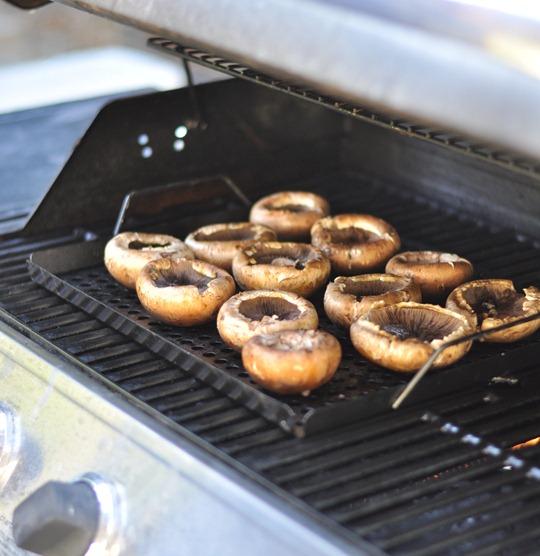 grill portabellas