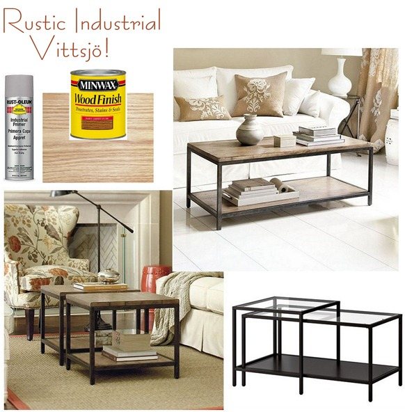 Rustic Industrial Vittsjo