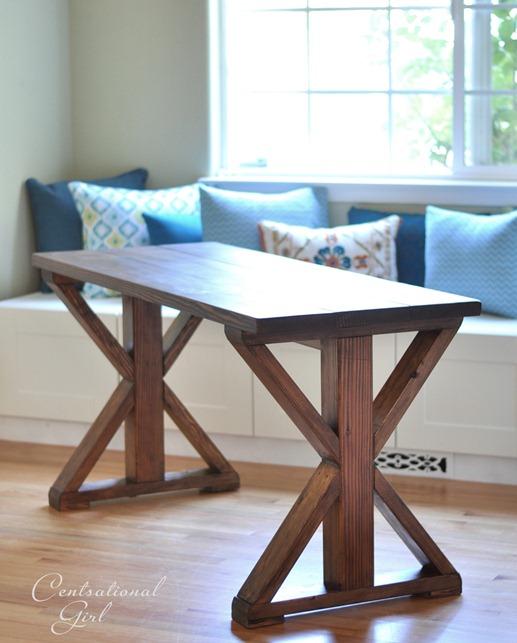 x base rustic table cg