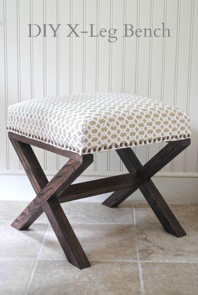 X Leg Bench (Guest Tutorial) | Centsational Style