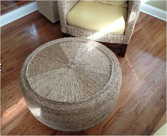 tire to rope ottoman thatwasawhat