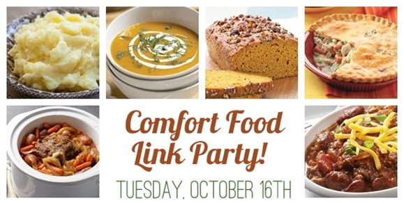 comfort food link party