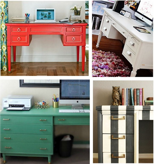 desk makeovers hgtv