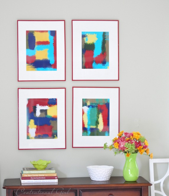 Inexpensive Framed Abstract Art