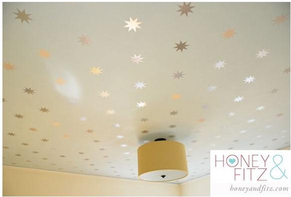 starry ceiling honeyandfitz