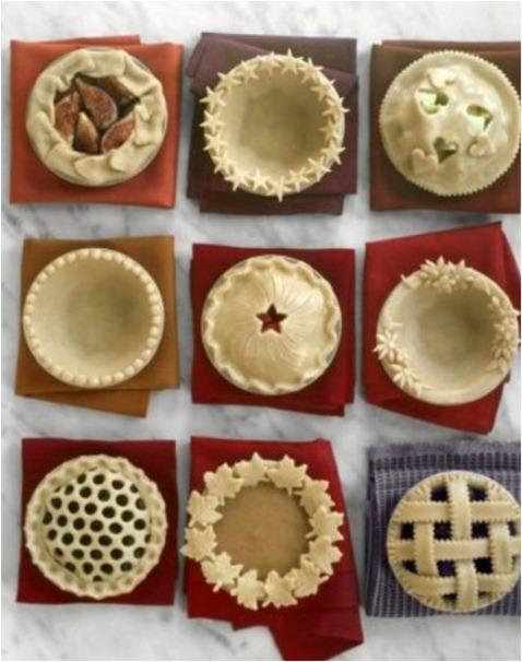 making decorative pie crusts
