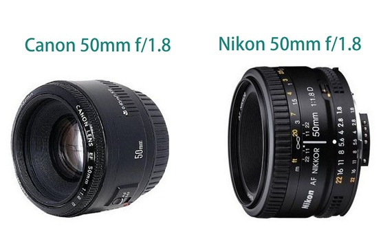 50 mm for canon and nikon