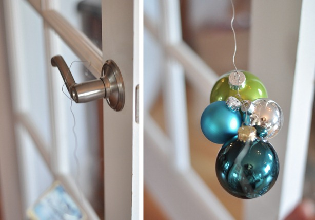 make ornament garland