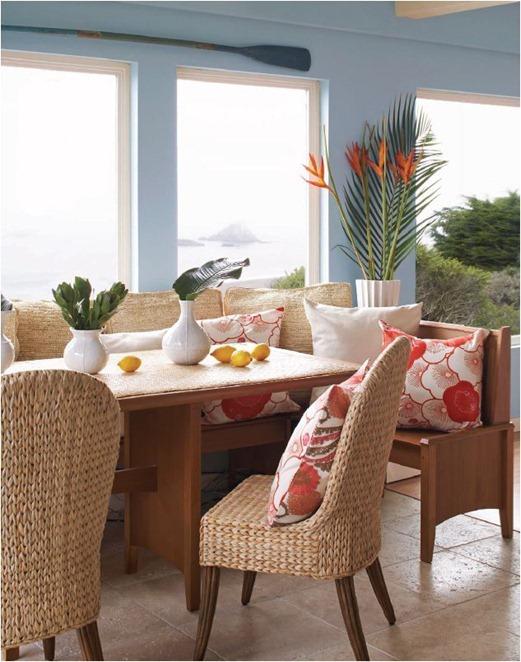 beachy dining nook albaworks
