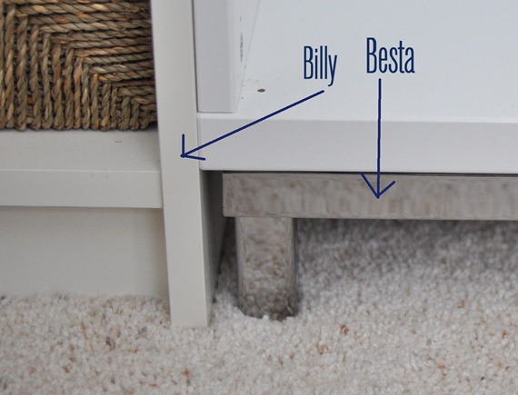 Besta Frame And Billy Base