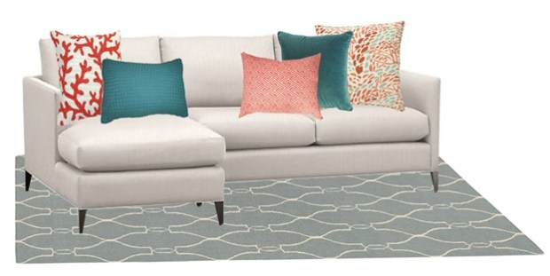 Sofa Pillow Styling Basic Tips