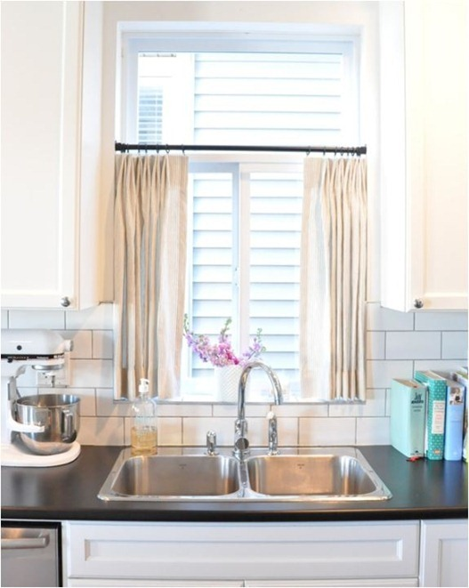 over the sink kitchen curtains 6 ways to dress a kitchen window centsational style 7261