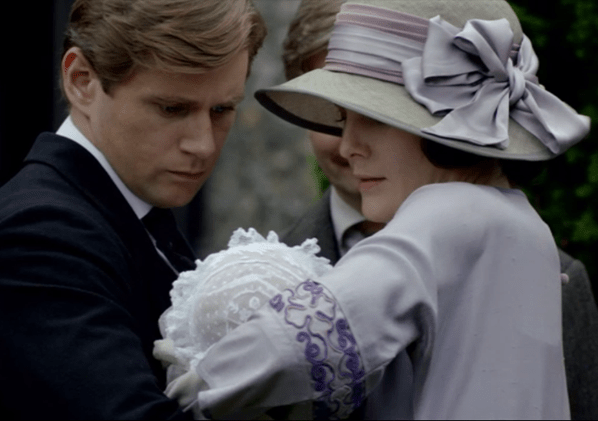 downton abbey christening
