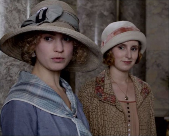 downton abbey hats on ladies