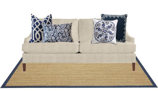 Sofa Pillow Styling Basic Tips Centsational Girl