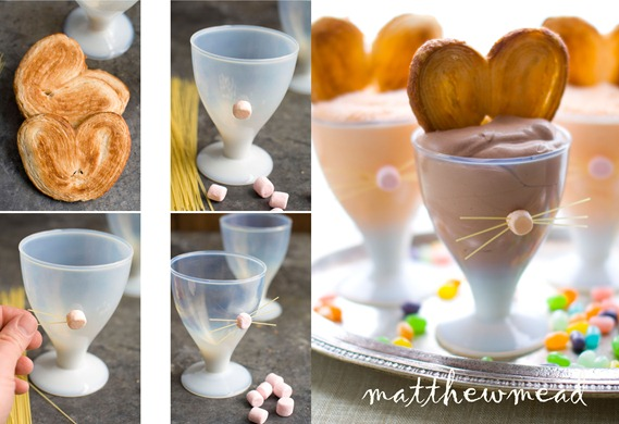 bunny ears mousse steps